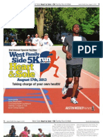 West Side Hear & Sole 5k Special Section