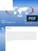 JBS Institutional Presentation (Aug/Sep)