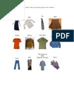 CLOTHES.Vestuário
