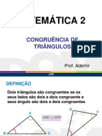Congruencia Db 2013