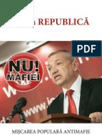 """Programul Mişcării Populare Antimafie """"A II-a Republică"""""""
