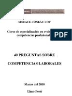 T5 40 PREGUNTAS SOBRE Competencias Laborales