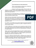 Articulo Prima Administrativa Ffmm