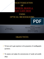 Microstructure Analysis of fe al
