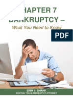 Chapter 7 Bankruptcy What You Need to Know