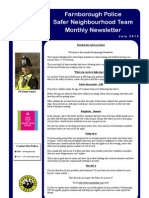 NHW Newsletter - July 2013