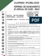 MC1 - Auxiliar Administrativo - X