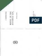 Mendendez Pidal -  Manual de Gramatica Historica Española