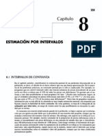 Cap 8 - Estimación por intervalos