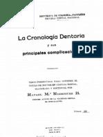 CRONOLOGIA DENTARIA