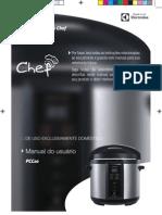Panela de Pressão Elétrica Cuisine (PCC10)  Electrolux man_PCC10