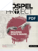 Gospel Project Unit 1 Session 1  Student Personal Study Guide - Fall