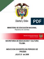 Presentacion PEI 2006