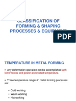 Bulk Deformatin Processes and Equipment