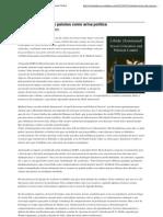 Controle técnico das paixões como arma política _ Agenda Global