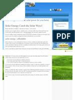 Housewindnsun Com Solar Energy