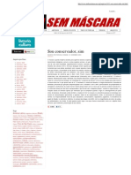 Mídia Sem Máscara - Sou conservador, sim - Erich Fromm e  o know-how, know-why e o know-what-for