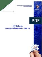 Syllabus FMM 132 2013 - 02