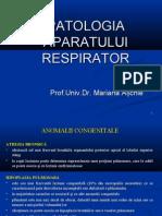 Curs 3 - Patologia Respiratorie