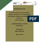 Informe Técnico de la evolución histórica  de la tecnología educativa