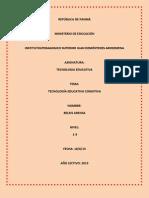Tema4-TECNOLOGÍA EDUCATIVA COGNITIVA