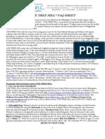 One Tree Hill FAQ Sheet