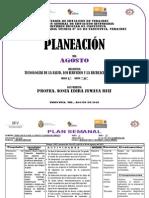 1er Grado Plan Semanal Agosto 2013 (1)