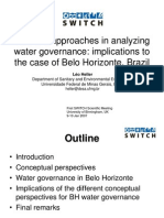 CBEL PRS Approaches in Analyzing Water Governance BH