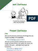Present Continuous Pre-intermediate