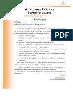 ATPS 2013 2 ADM 6 Adm Financeira Orcamentaria
