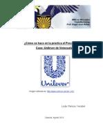 Proceso ECR Caso -Unilever-Agost 2013