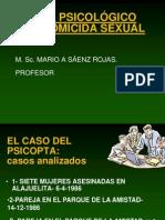HOMICIDA EN SERIE PRESENTACIÓN
