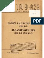 TM 9-822 IHC K7 AND KS7