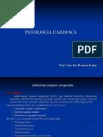 Curs 1 Patologia Cardiaca