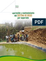 OPERACION Y MANTENIMIENTO DEL SIST DE RIEGO POR ASPERSION