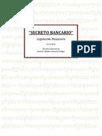 Secreto Bancario - Monografia