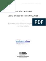 Teaching english using Internet technologies
