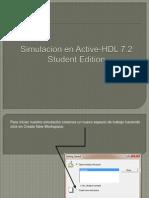 Simulacion en Active-HDL 7