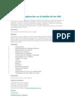 Autocad y su aplicación en el ámbito de los SIG