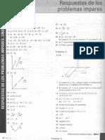 Respuesta+Ejercicios+Impares. Calculo+Vectorial. Zill