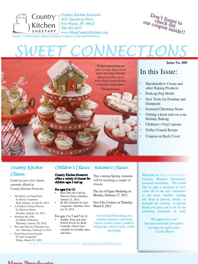 Country Kitchen Sweetart Newsletter009l Cakes Candy