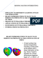 On Interesting Mathematics