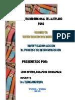 DISEÑO METODOLOGICO DE LA INVESTIGACION ACCION