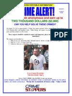 20 N Sheridan Blvd Crime Stoppers