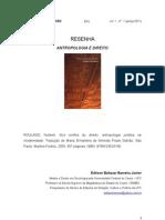 Resenha Antropologia e Direito Norbert Rouland