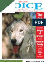 The Senior Voice - April 2009
