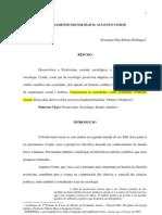 7 o Pensamento Sociologico Augusto Comte - Rosemary Dias Ribeiro Rodrigues