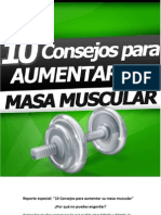 10 Consejos Para Aumentar Su Masa Muscular