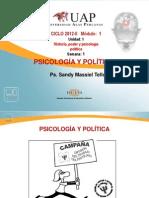 semana 1 psicol y política