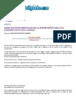ASPECTOS FUNDAMENTALES DE LA SUPERVISIÓN PARA UNA CONSTRUCCIÓN CON CALIDAD _ CivilGeeks